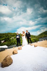 wedding laurentians tremblant