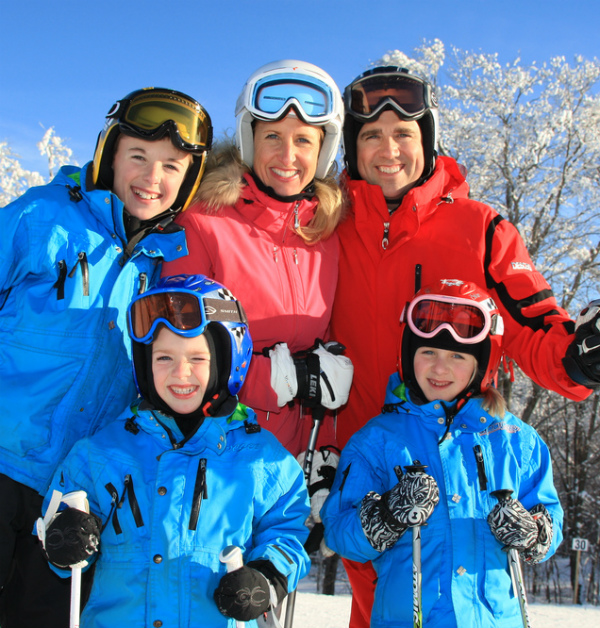 Photo : With Family Ski Mont-Blanc Package