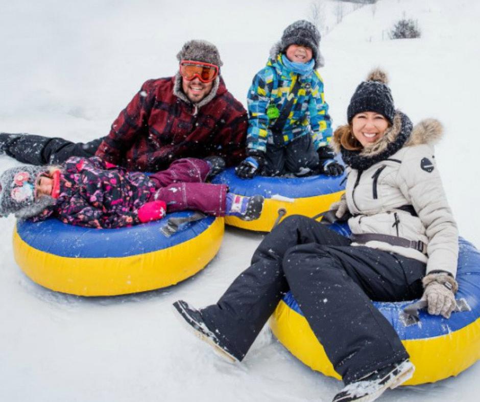 Snow Tubing - Royal Laurentien