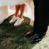 Mariage Royal Laurentien pieds sur le golf